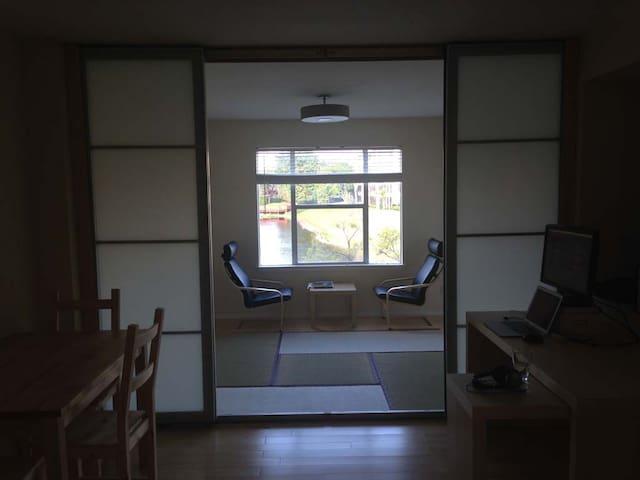 Neat Condo in Zen/Peaceful Atmosphere - Delray Beach - Apartment