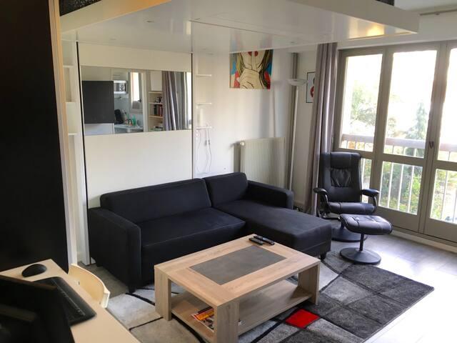 Charmant studio aux portes de Paris