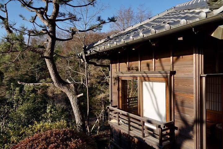 皎月山荘・離れ Kougetsu Sanso -Moon Villa in Tokyo・Hanare