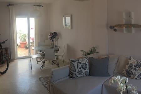 House, rooftop terrace, close beach - Тарифа