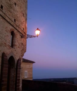Luxury medieval tower in Le Marche - Montefiore dell'Aso