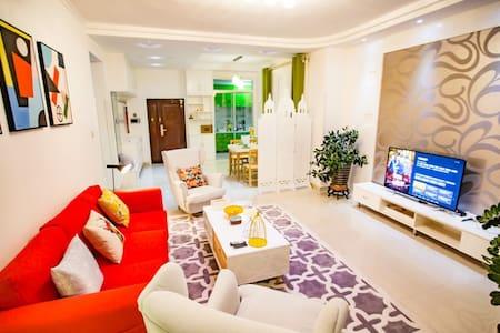 Lovelife【万达】高铁站、小绿谷、骑马山园艺师的家room3格林威治城 - Wulumuqi Shi - Wohnung