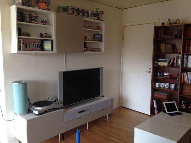 2 rooms w/ Kitchen, Bath, & balcony - Risskov - Apartment