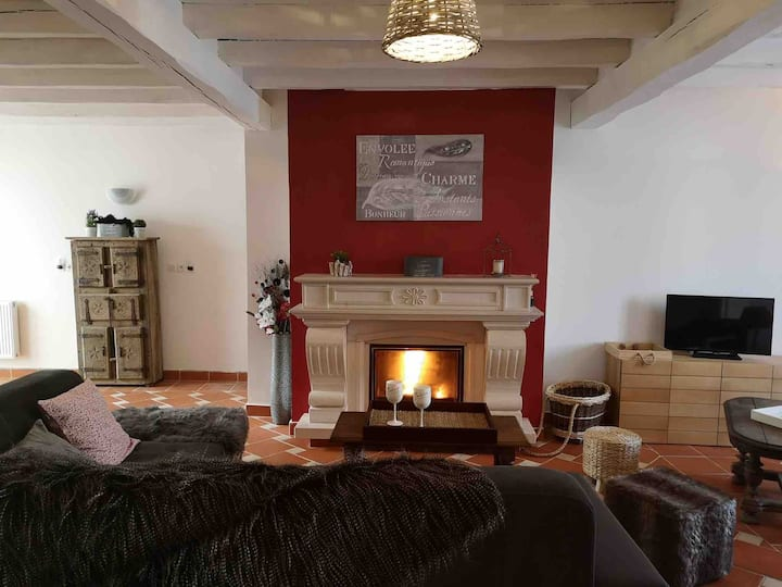 Lillycombi  - 6 chambres -cheminée-cour privée