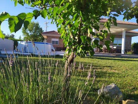 Chalet en entorno rural