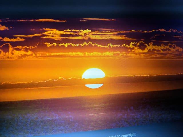 Aldinga bay sunset