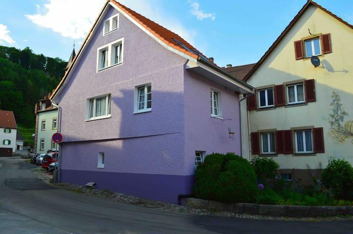 Renoviertes Altstadthaus in Stühlingen