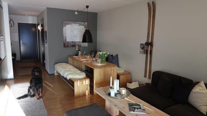 Innbydende leilighet på Kvitfjell Vest, Studio H