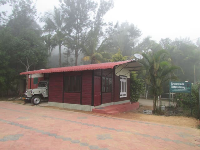 8 bed Jungle view cottage - Mudumalai tiger forest