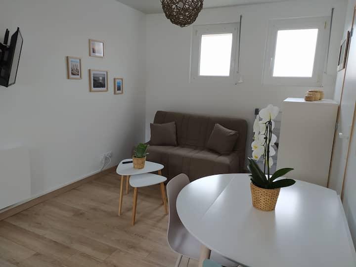 Njörd - Studio confortable à Wissant