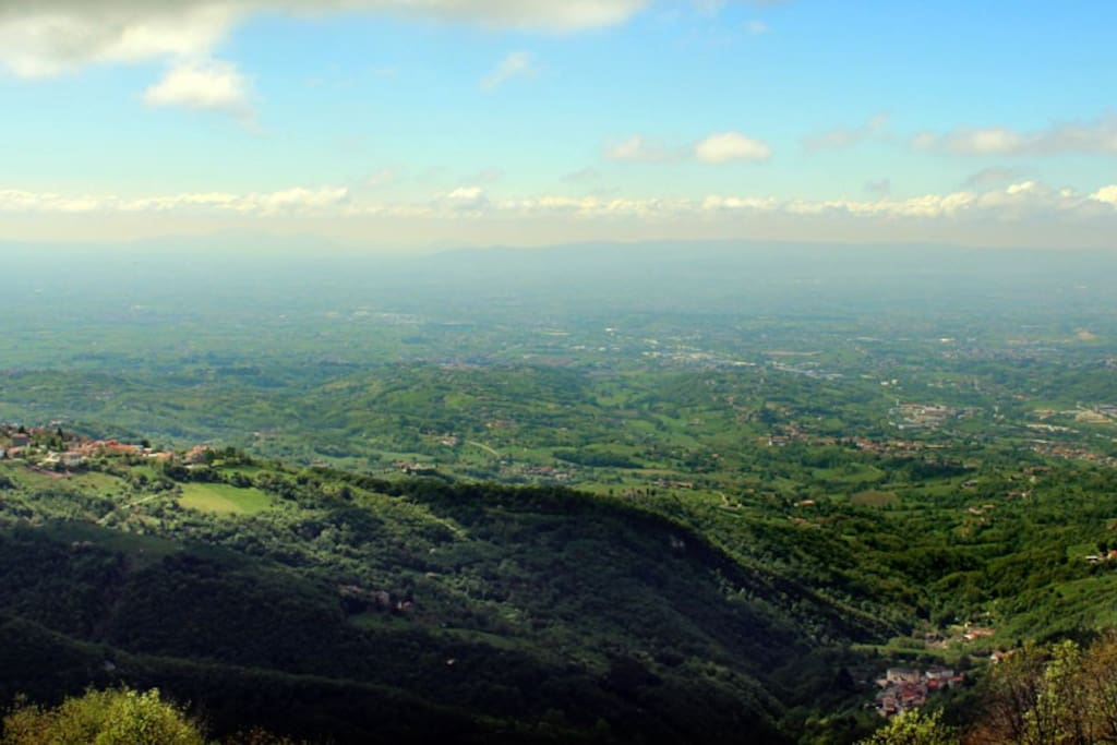 Il panorama / The view