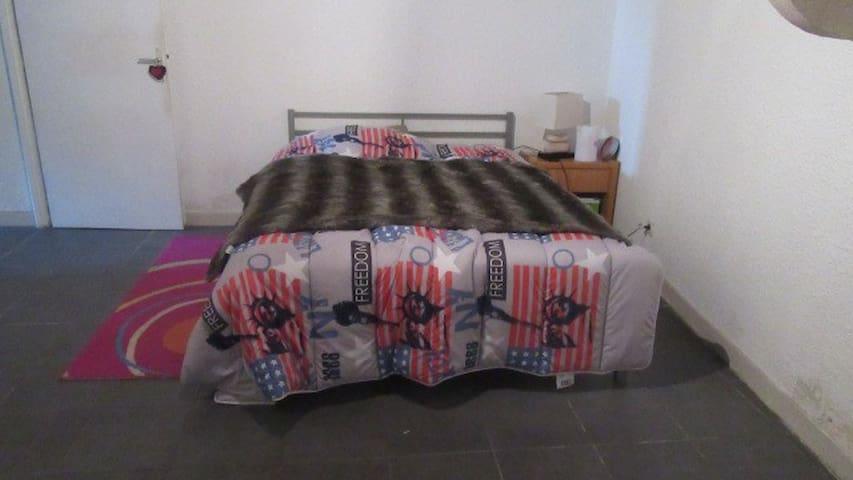 chambre privé - Saint-Trivier-sur-Moignans - Apartment