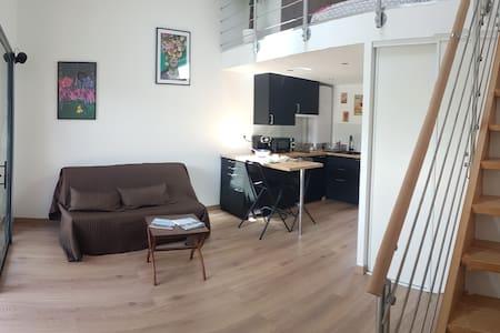 Studio avec Mezzanine - Lège Bourg