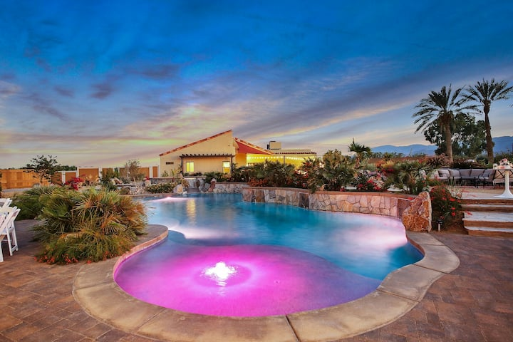 Coachella Ranch: Pool, Spa, Fire Pit, Wedding!!!