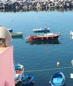 Casa Antonietta affacciata sul mare di Corricella