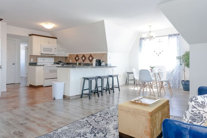 Amazing location in Saint John  2 Br Modern  Parking  New