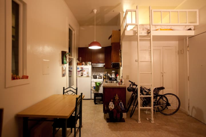 Loft Studio in the Mission - San Francisco - Loft