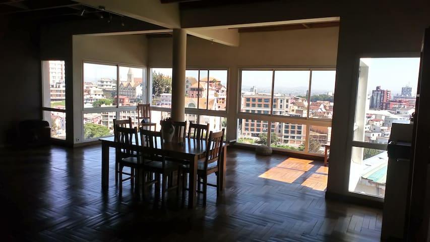 Loft avec vue Tana centre