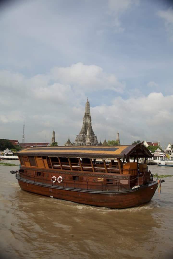 Mekhala Cruise: Bangkok - Ayuthaya - Bangkok