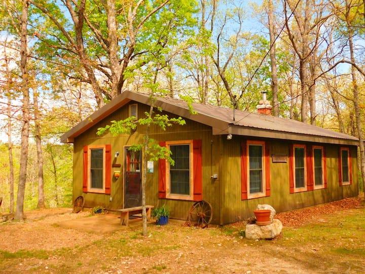 Turkey Ridge Cottage - Rock Eddy Bluff Cabins