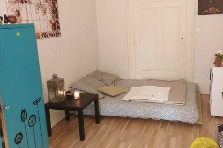 Chambre cosy dans colocation chaleureuse - Strasbourg