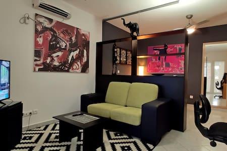 Apartamento estudio de estilo moderno