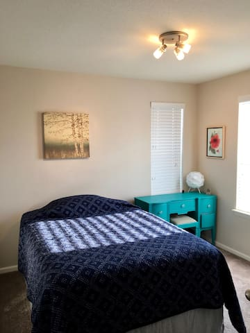 Cozy bedroom and private bath in Lafayette - Lafayette - Huis