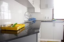 Shared space: The kitchen