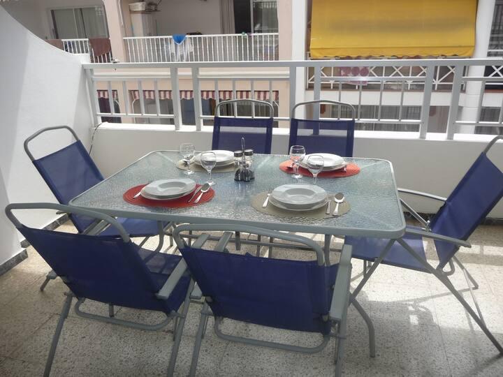 """Apartamento en Puerto Naos """"La Paz"""""""