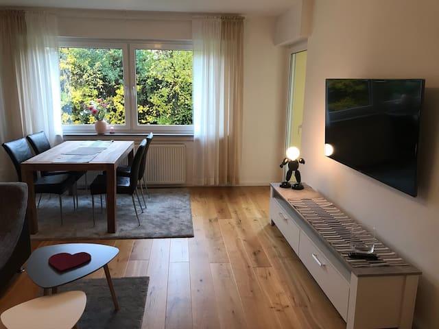 Gemütliche stylische 60qm Wohnung zum Wohlfühlen