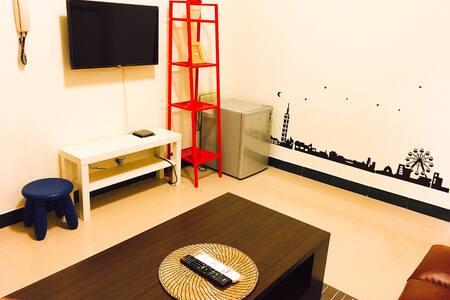 「一間房間」-  溫馨家庭式套房 - 金城鎮 - Διαμέρισμα