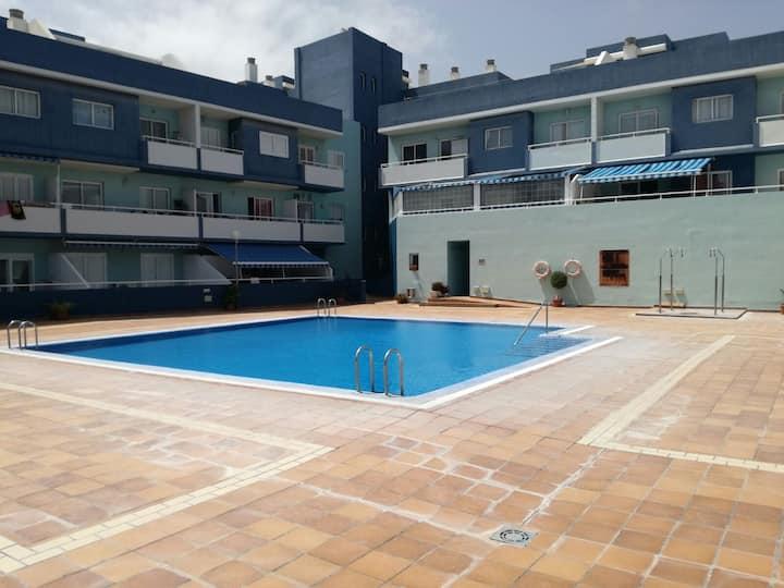 Apartamento Puertito de Güímar con GRAN TERRAZA.