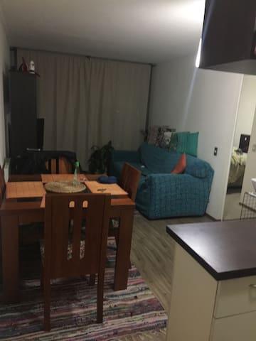 Dormitorio para una persona Pequeño acogedor - Santiago - Departamento