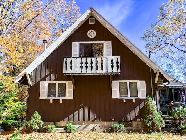 Charming chalet on Chateaugay Lake