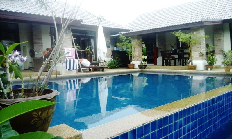 KHO SAMUI - THAILANDE maison  3 ch avec piscine - bophut - Talo