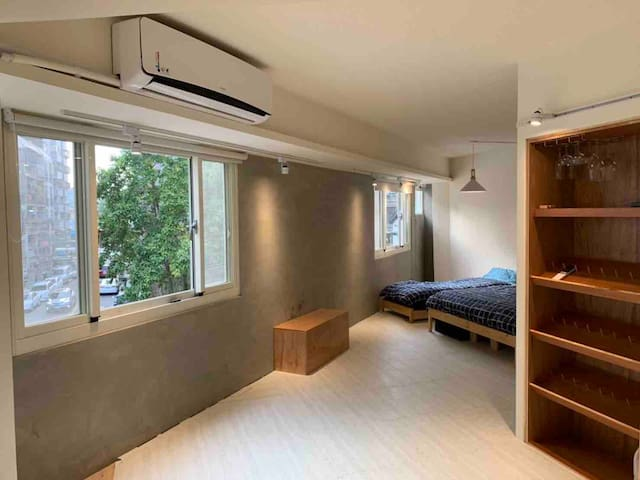 Good-Days Lovely APT Yizhong St  一中街(wifi、kit、66㎡)