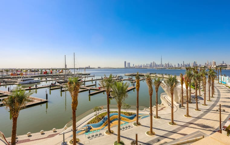 Deep Sea & Burj Khalifa View Luxury 2 Bedroom
