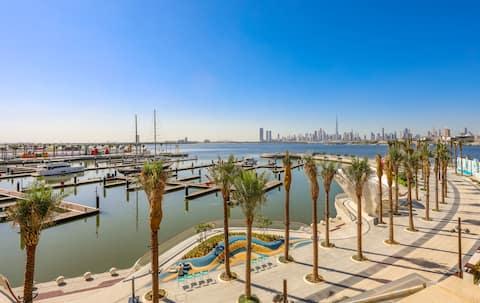 Huge Balcony & Harbour View/Luxury Emaar 2BD Apt.