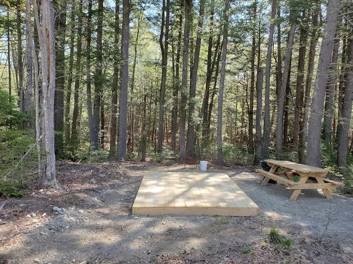 NEFS Little Nook campsite
