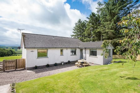 Lammerlaw Farm Cottage - Huis