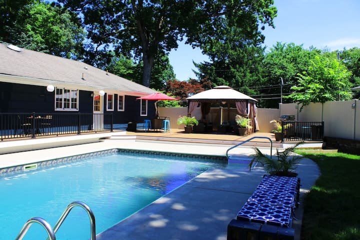 Escape to Private Pool Oasis just 45 min from NYC