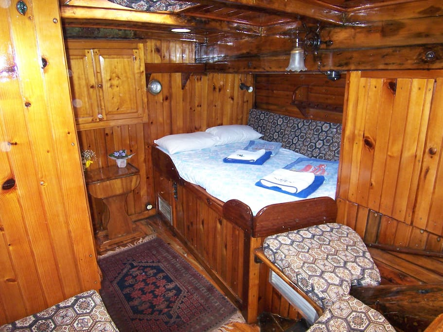 The Aft Cabin looking to starboard