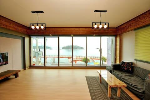 해상동동다리아름다운야경불빛이 보이는 -여수소호하우스1호점(36평)(soho.house)