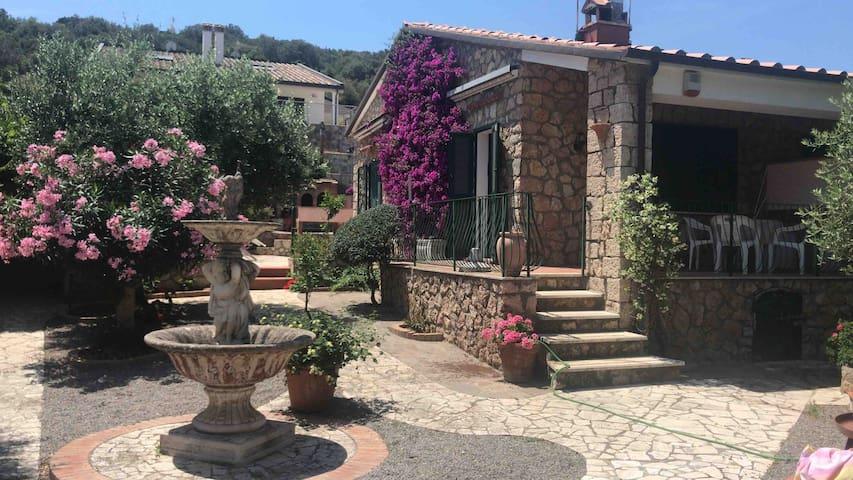 """""""Villa il Fenicottero """" Argentario Terrarossa"""