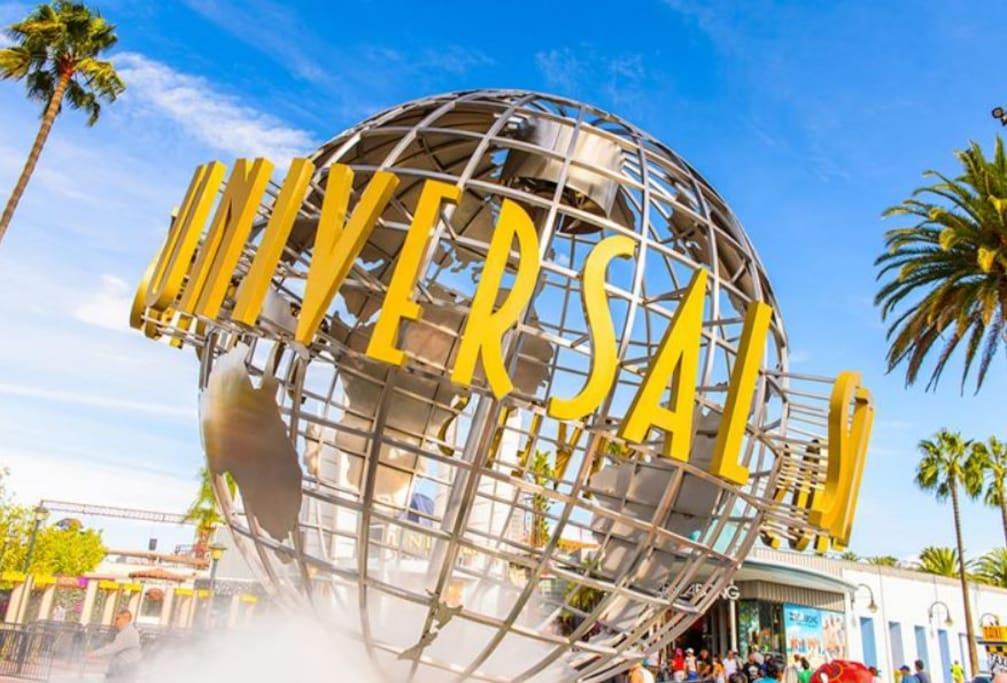 Universal Studio, 29 miles away