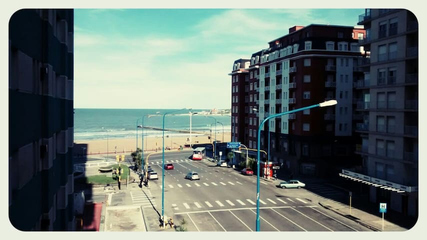 Depto Vista al Mar en Mar del Plata - Mar del Plata - Apartmen