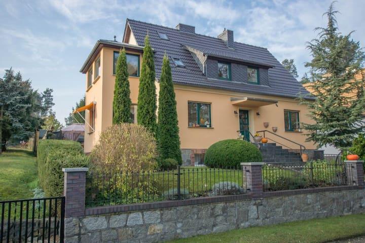 Ferienhaus Goyatz Schwielochsee  Spreewald  Pool