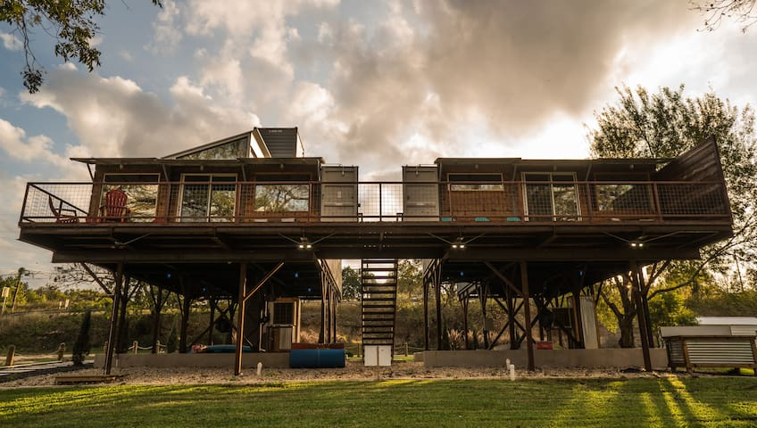 Waterfront Container Home The Dam Camp (Unit A)