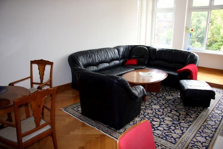 Zeitz Zentrum möbelierte Wohnung, 2Zi/Kü/Bad, 79qm
