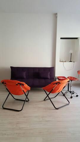Beau duplex moderne meublé nord Aix